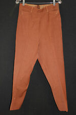 Vintage 1940'S Brown Riding Pants 30 Inch Waist