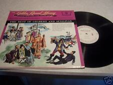 "Golden Record Library #9 ""Best Gilbert and Sullivan"" LP"