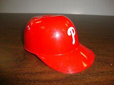 "Philadelphia Phillies---Small Plastic Helmet---5 1/2"" Long"