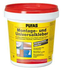 """Pufas """"Montagekleber & Universalkleber"""" 750 g lösungsmittelfrei superfest"""