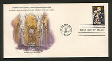 USA-FDC-ART-CERTIFICATE OF AUTHENTICITYCHRISTMAS-1980.