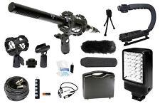 Microphone Complete Camcorder Kit for Canon VIXIA HF10 HF11 HF20 HF100 HF200