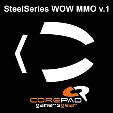 COREPAD Skatez Piedini del mouse SteelSeries MMO WOW