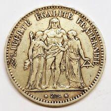 Ecu 5 Francs Hercule 1874 A