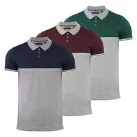 Mens Polo T Shirt Brave Soul Lorenzo Grindle Short Sleeve Collared Casual Top