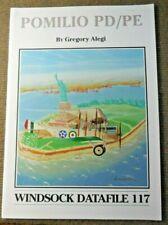 Vintage 2006 Windsock Datafiile 117 Pomilio Pd/Pe Aircraft Book