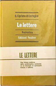 LE LETTERE PATRISTICA - S. CIPRIANO DI CARTAGINE - PAOLINE