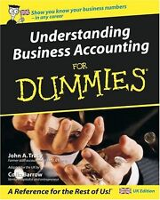Understanding Business Accounting for Dummies - UK Edition,Colin Barrow,John A.