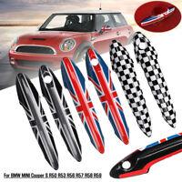 2X Exterior Car Door Handle Cover For BMW Mini Cooper S R50 R53 R56 R57 R58 R59