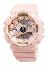 Casio GMAS110MP-4A1 G-Shock Rose Gold Analog Digital Pink Watch