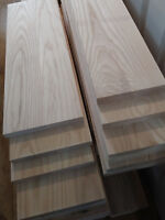 SOLID ASH PLANK / BOARD / PLANED / SANDED /150MM-200MM / 23MM - VARIOUS LENGTH