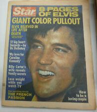 Star Magazine Elvis Presley & Caroline Kennedy September 1977 LIKE NEW 081415R
