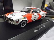 OPEL Manta A GT/E Racing 24h spa 1973 Vermeulen #79 Marlb or Schuco limited 1:43