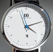 Danish Design * Damenuhr * Stahl * Lederband * Quarz * Ref. 3324606