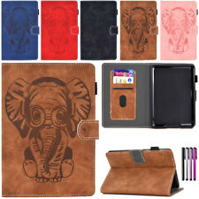 """Fr 6"""" 7"""" Amazon Kindle Fire 7 2019 2017 Paperwhite 1234 Leather Smart Cover Case"""