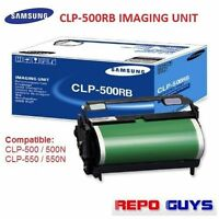 Genuine Samsung Imaging Unit CLP-500 CLP-550 N / CLP-500RB Brand NEW