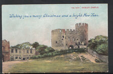 West Midlands Greetings Postcard - Merry Christmas, The Keep, Dudley,    BH1158