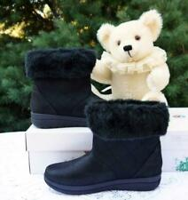 NIB Clarks Women's Cabrini Reef Boot - Cloudsteppers Comfort / Black Size 8 M