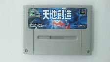 TENCHI SOZO Terranigma    Nintendo Super Famicom Japanese SFC SNES Japan USED