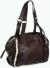 Borsa Napapijri Bag Woman Joik Satchel Deep Brown N5E02