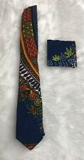 African kente Ankara  wax print men's necktie,Father's Day and anniversary Gift