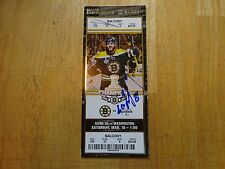 Dmitry Orlov Signed Ticket to 1st Multi Point Game   Free s/h
