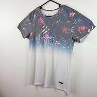 Mens Kenji Graphic Tee Floral Print Tshirt Size M Medium