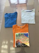 LOT TEE SHIRT MANCHES COURTES ORCHESTRA 10 ANS