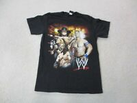 WWE Shirt Adult Medium Black John Cena Undertaker WWF Wrestling Wrestler Mens *
