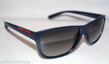 Occhiali da sole da uomo con montatura in grigio PRADA 100% UVA & UVB