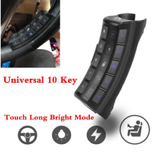 Universal Steering Wheel 10-Key Button Remote Control For Car Stereo DVD GPS
