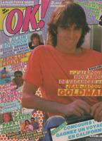 Magazine OK ! n° 395 Jean Jacques Goldman Souchon Sardou Johnny FR. David Lahaye