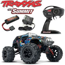 Traxxas 1/16 Summit Brushed 4WD RTR RC Truck Rock-N-Roll Body Battery & Charger!