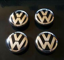 4 logo VWvw caches moyeu 65mm , centres de roue emblème volkswage 3B7 601 171