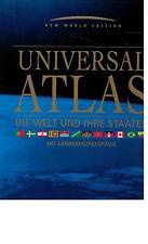 Atlas - Universalatlas Die Welt und ihre Staaten