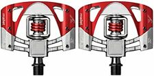 Pedales Crankbrothers Mallet 3 Plata/rojo