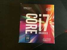 Intel Core i7-7700K 4.2GHz 8MB Cache intelligente SCATOLA INTATTA MAI APERTA