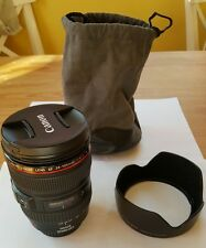 Canon EF 24-105mm F/4 IS L USM Lens - Perfect condition