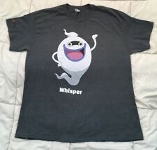 ANIME Yo-Kai Yokai Watch WHISPER T-Shirt Official Size XL Nintendo 3DS