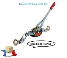 Tire Câble Manuel 2 Crochets Tire Fort Treuil Manuel Halage 907/1814 kg
