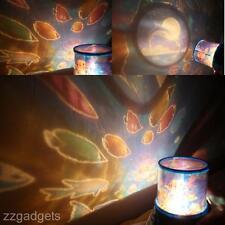 New Room Decoration Romantic Ocean LED Night Light Sky Stars Projector Lamp Hot
