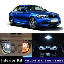 14x LED White Lights Interior Package Kit For 2008-2013 BMW 1 Series E82 E87 E88
