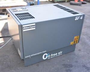 Atlas Copco SF4 Screw Compressor SF4SKID1 3.7kW 5HP 0.4m3/min only 50:23hrs
