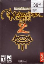 PC Game Collection NEVERWINTER NIGHTS 1 & 2 DIAMOND STORM OF ZEHIR MASK BETRAYER
