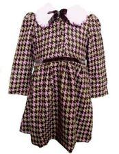 Robes à longueur de manches manches longues, en 100% coton 2 - 3 ans pour fille de 2 à 16 ans