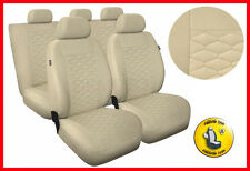 CAR SEAT COVERS full set fits Toyota Prius Universal - beige (MP3)