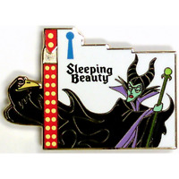 Disney Pin 111913 DSSH Puzzle Marquee Sleeping Beauty Maleficent LE 400 #