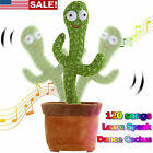 Dancing Cactus Plush Toy Electronic Shake w/ 120 Songs Funny Cute Toys kids Gift