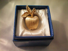 Brooch Pin Avon Apple