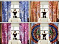 Indisch Hamsa Mandala Baumwolle Hippie Wandteppich Tür Cutain Dekor Vorhang